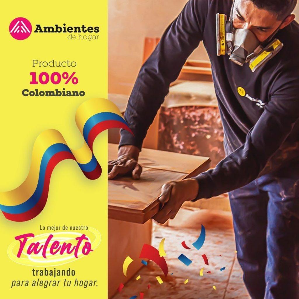 Ambientes de Hogar | Productos 100% Colombianos